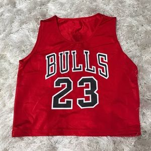 Tops - Chicago Bulls crop top